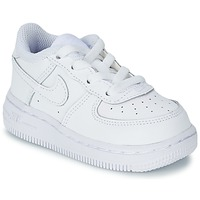 Scarpe Bambino Sneakers basse Nike AIR FORCE 1 Bianco
