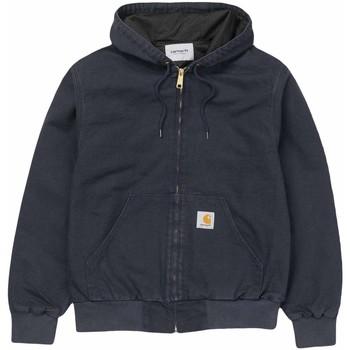 Abbigliamento Uomo Felpe Carhartt Wip Giacca Active Jacket Dark Navy Blu