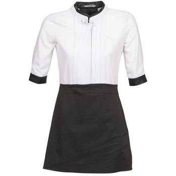 Abbigliamento Donna Abiti corti La City COLUMBA Nero / Bianco