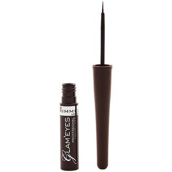 Bellezza Donna Matia per occhi Rimmel London Glam'Eyes Professional Liquid Eye Liner 002 -brown 3,5 ml