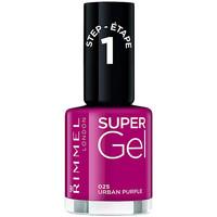 Bellezza Donna Smalti Rimmel London Kate Super Gel Nail Polish 025-urban Purple 12 ml