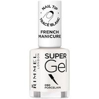 Bellezza Donna Smalti Rimmel London French Manicure Super Gel 090-porcelain 12 ml