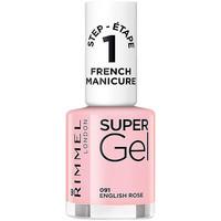 Bellezza Donna Smalti Rimmel London French Manicure Super Gel 091-english Rose