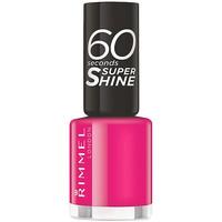 Bellezza Donna Smalti Rimmel London 60 Seconds Super Shine 323-funtime Fuchsia 8 ml