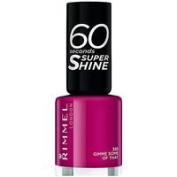 Bellezza Donna Smalti Rimmel London 60 Seconds Super Shine 335-gimme Some Of That 8 ml