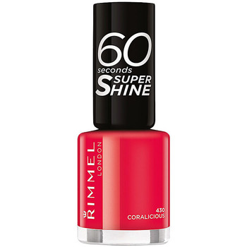 Bellezza Donna Smalti Rimmel London 60 Seconds Super Shine 430-coralicious 8 ml