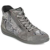 Scarpe Donna Sneakers basse Geox D MYRIA Grigio / Scuro