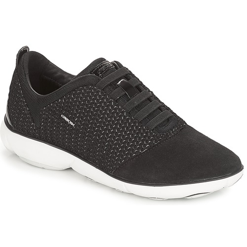 Geox D NEBULA Nero  Scarpe Sneakers basse Donna 130