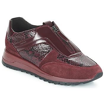 Scarpe Donna Sneakers basse Geox D TABELYA Bordeaux