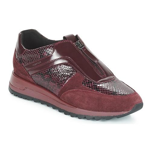 Geox D TABELYA Bordeaux  Scarpe Sneakers basse Donna 130