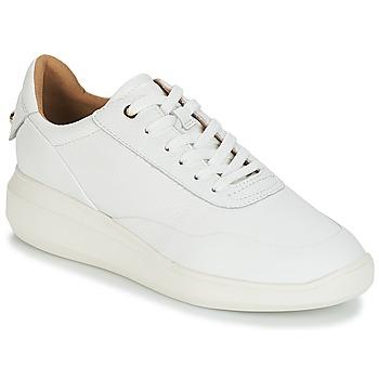 Scarpe Donna Sneakers basse Geox D RUBIDIA Bianco