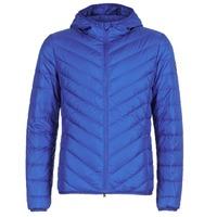 Abbigliamento Uomo Piumini Emporio Armani EA7 TRAIN CORE SHIELD 8NPB09 Blu / Elettrico