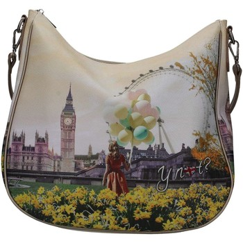 Borse Donna Tracolle Y Not? ? J-373 Borsa Donna Flower Tower Flower Tower