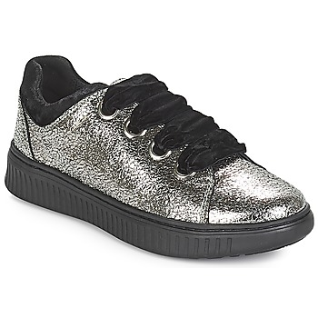Scarpe Bambina Sneakers basse Geox J DISCOMIX GIRL Argento