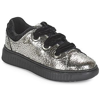 Scarpe Bambina Sneakers basse Geox J DISCOMIX GIRL Argento