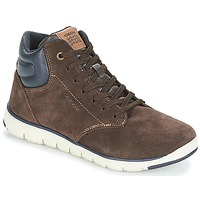 Scarpe Bambino Sneakers alte Geox J XUNDAY BOY Marrone / Marine