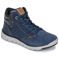 Scarpe Bambino Sneakers alte Geox J XUNDAY BOY Marine / Nero