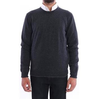 Abbigliamento Uomo Maglioni Altea MAGLIONE  UOMO IN LANA ANTRACITE CON TOPPE Grey