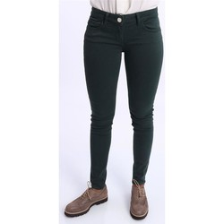 Abbigliamento Donna Chino Seventy PANTALONI SLIM VERDI Green