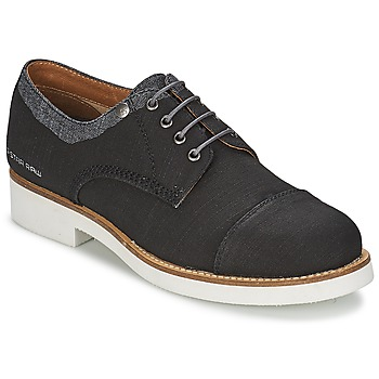 Scarpe Donna Derby G-Star Raw ETON Nero