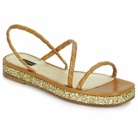 Scarpe Donna Sandali Marc Jacobs MJ16405 Marrone / ORO