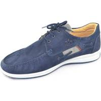 Scarpe Uomo Sneakers basse Interland Scarpa  uomo  man casual made in italy scarpa interlan BLU