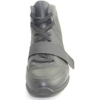 Scarpe Uomo Sneakers alte Made In Italia Scarpe uomo tomaia in vera pelle  gommato a contra 6ef7f2a704b