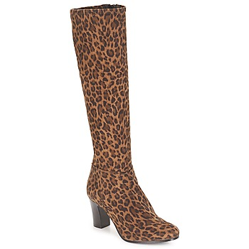 Scarpe Donna Stivali André GANTELET 4 Leopard