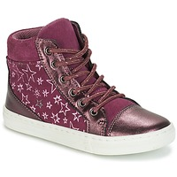 Scarpe Bambina Sneakers alte André EMILIE Viola