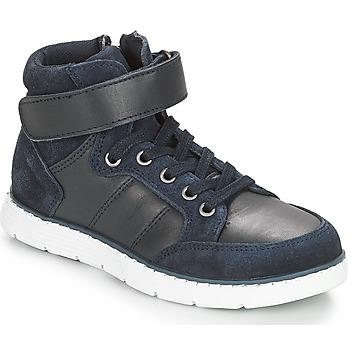 Scarpe Bambino Sneakers alte André TOM Marine