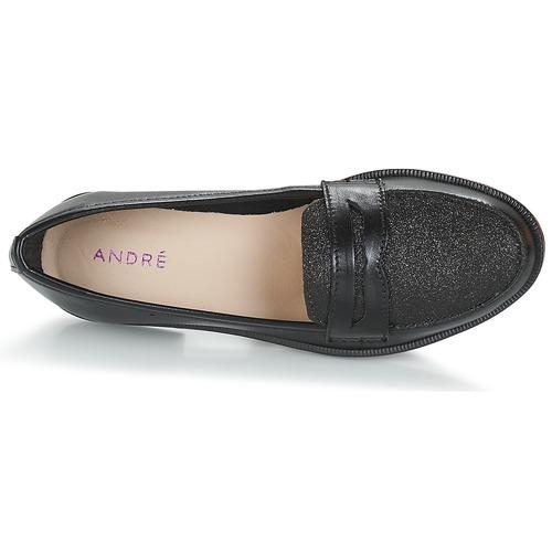 Island Long Donna Consegna Scarpe André Gratuita Mocassini Nero 2760 IH9WYe2EDb