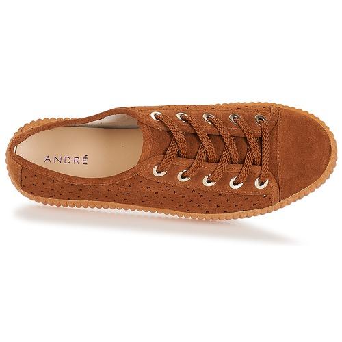 Consegna Donna Starlight Sneakers Basse Marrone 3160 André Gratuita Scarpe FTcK3l1Ju5