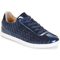 Scarpe Donna Sneakers basse André VELVET Blu