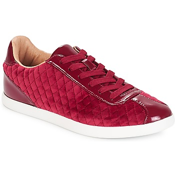 Scarpe Donna Sneakers basse André VELVET Rosso