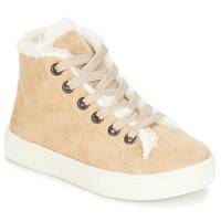 Scarpe Bambina Sneakers alte André TRICOT Beige