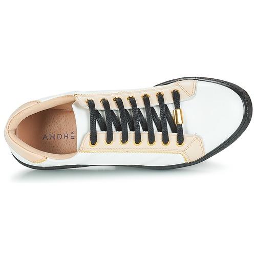 Gratuita Basse Scarpe Sneakers Consegna Donna Bianco 5100 André Berkelita 9EDWIH2