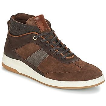 Scarpe Uomo Sneakers alte André GLASGOW Marrone