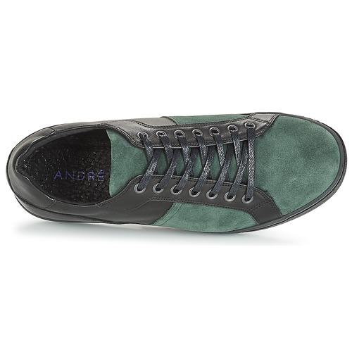 Gratuita Basse Aurelien Scarpe Consegna André Verde Sneakers 4740 Uomo mnPNy80wvO