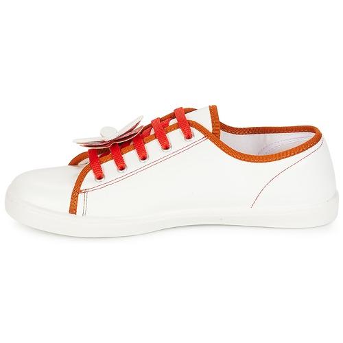 Scarpe Consegna Rosso Donna Guimauve Gratuita Sneakers Basse 3540 André 1cKTFlJ3