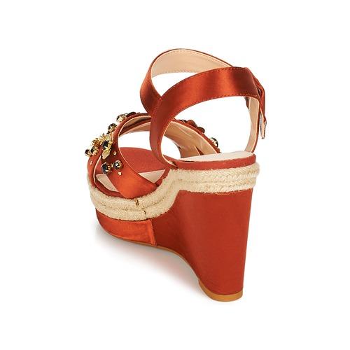Consegna Scarpe Gratuita 3950 Ixia Sandali André Ocre Donna iPkOZXuT