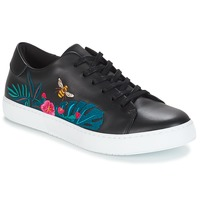Scarpe Donna Sneakers basse André HIBISCUS Nero