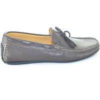 Scarpe Uomo Mocassini Interland Scarpe uomo mocassino  marrone da barca modello car shoes slip o MARRONE