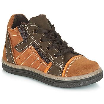 Scarpe Bambino Sneakers alte Citrouille et Compagnie JESSICA Camel