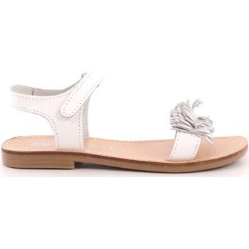 Scarpe Bambina Sandali Via 51 8 - ANNA 7 Sandalo Bambina Bianco Bianco