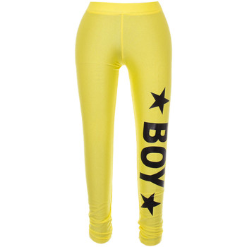 Abbigliamento Donna Leggings Boy London BOY LONDON LEGGINGS DONNA BL590YELLOW          GIALLO