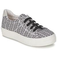 Scarpe Bambina Sneakers basse Shwik STEP LO CUT Nero / Bianco