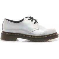 Scarpe Donna Sneakers basse Dr Martens Scarpe Basse Donna Silver Lazer Pelle 1461 IM silver