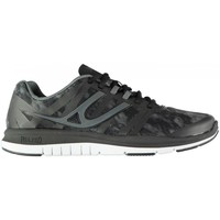 Scarpe Donna Sneakers basse Usa Pro SNEAKERS FITNESS DONNA BLACK/CHARCOAL Grigio