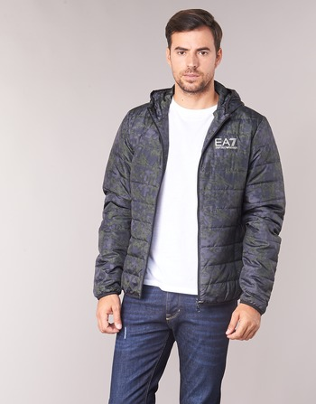 Emporio Armani EA7 TRAIN GRAPHIC SERIES M JACKET HOODIE ALL OVER CAMOU