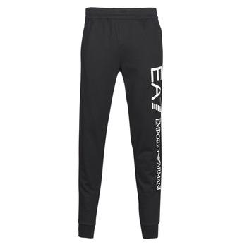 Abbigliamento Uomo Pantaloni da tuta Emporio Armani EA7 TRAIN TRITONAL M PANTS CH BR Nero / Bianco